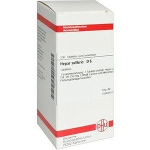 HEPAR SULFURIS D 6 Tabletten